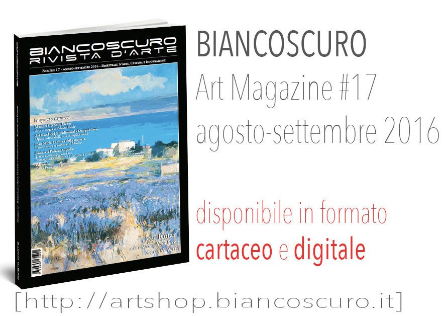 rivista arte Biancoscuro Art Magazine _issue17r