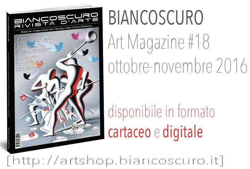 rivista arte Biancoscuro Art Magazine _issue18r