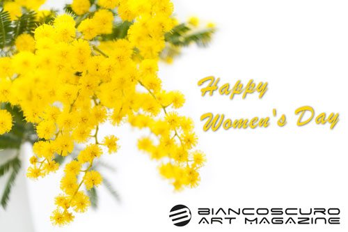 HAPPY WOMENS DAY MIMOSA-BIANCOSCURO ART MAGAZINE