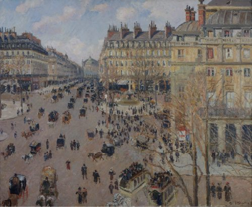 Camille Pissarro La Verger ˆ Eragny , 1896 olio su tela 54,6 x 65,4 cm. Carmen Thyssen-Bornemisza Collection, on loan at the Thyssen-Bornemisza Museum, Madrid