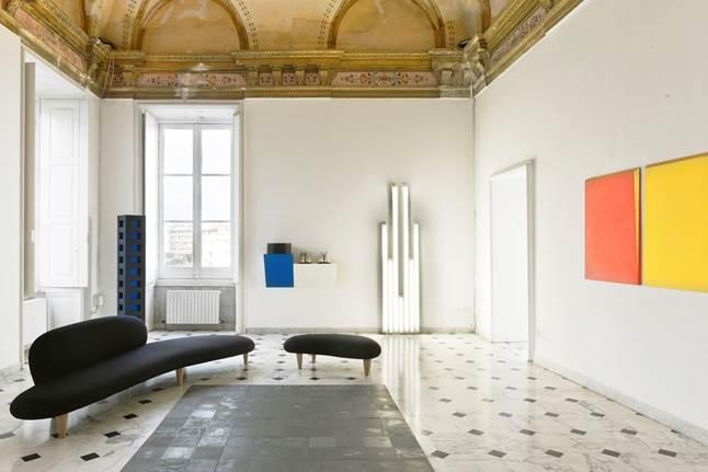 ANDY WARHOL SUL COMÒ - Opere della Collezione Rosetta Barabino (salotto)