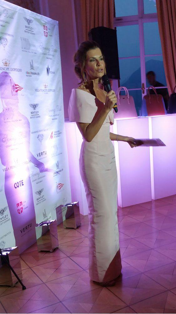 Madrina della serata l'ex Miss Italia Federica Moro
