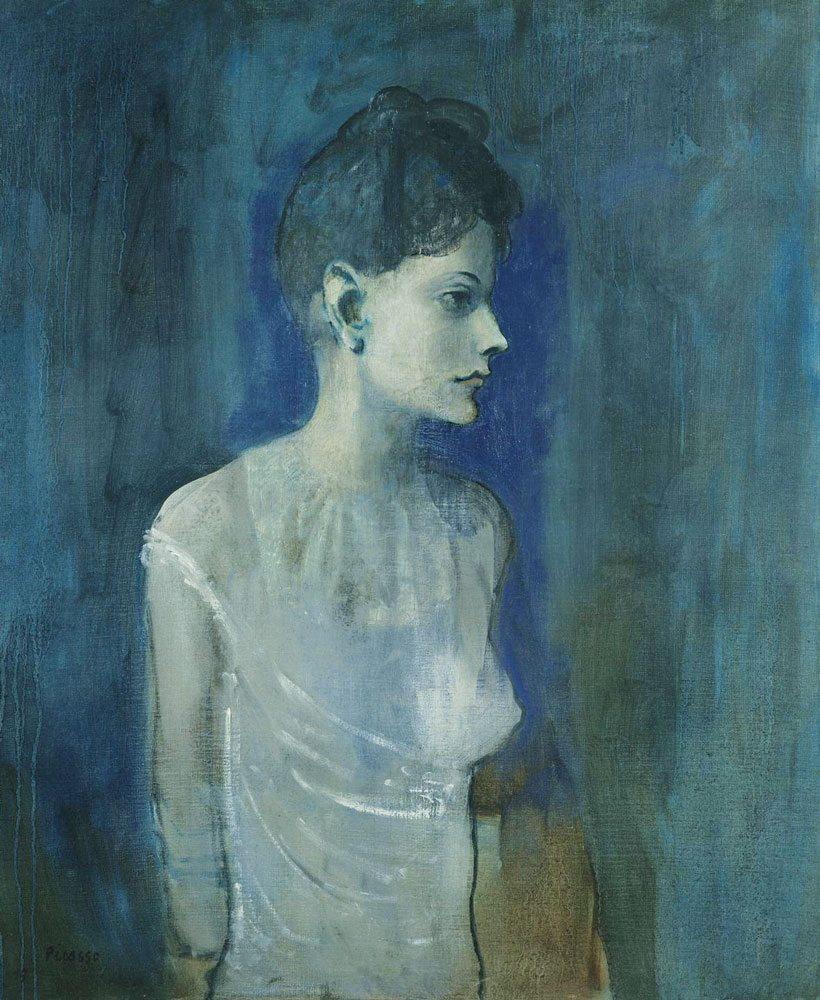 Pablo Picasso - Ragazza in camicia olio su tela, anno 1904-05, 72,7x60 cm. Londra, Tate. Lascito C. Frank Stoop, 1933 © Succession Picasso, by SIAE 2015