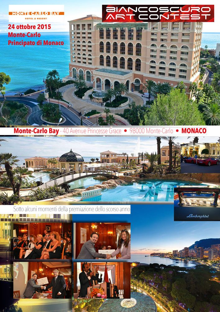 biancoscuro art contest 2015 Monte-Carlo