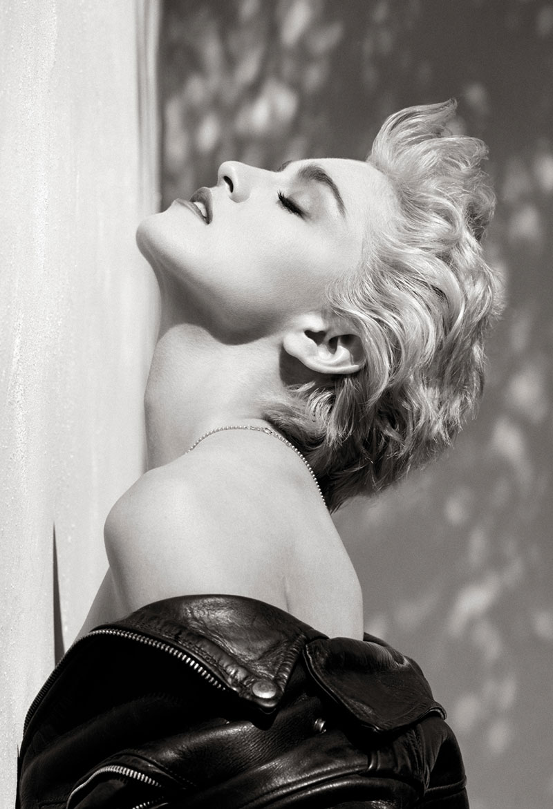 Madonna (Profilo True Blue), Hollywood 1986 © Herb Ritts Foundation