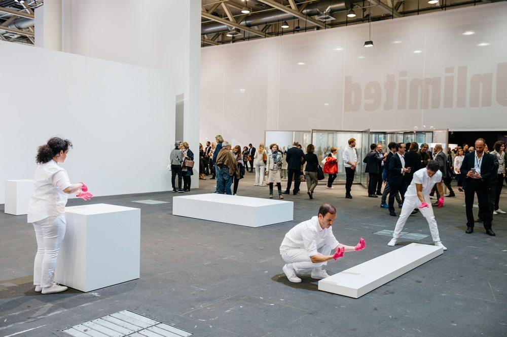Davide Balula | Gagosian Gallery | galerie frank elba © Art Basel