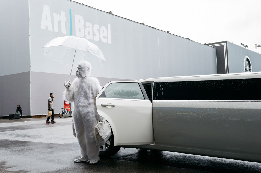 Mitchell Innes and Nash | Pope L © Art Basel