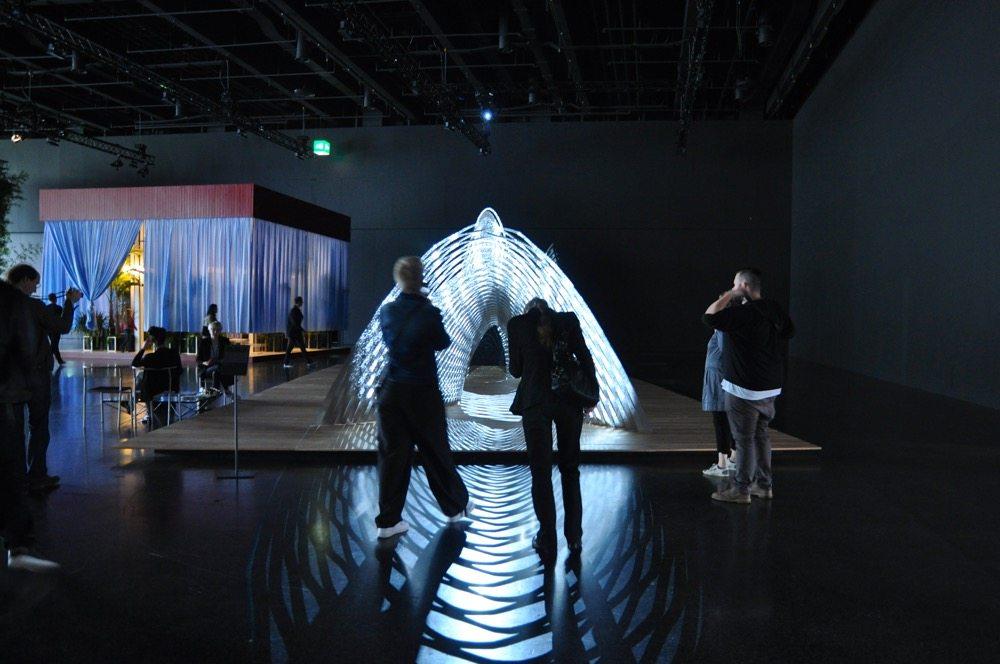 Kengo Kuma's - OWAN - presented by Galerie Philippe Gravier