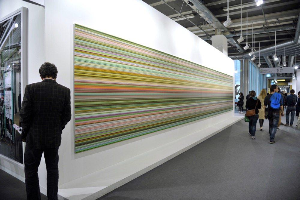 930/7 Strip / Gerhard Richter, 2015 / Courtesy of Marian Goodman Gallery - ArtBasel - Galleries