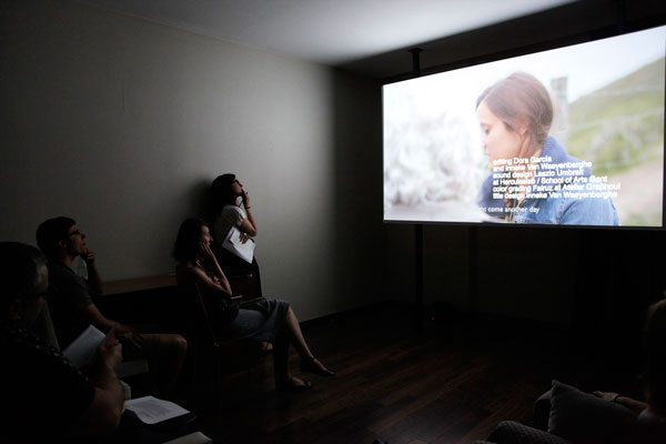 Loop2016 - Dora Garcia / GALERIA JUANA DE AIZPURU (photo by Carlos Collado)