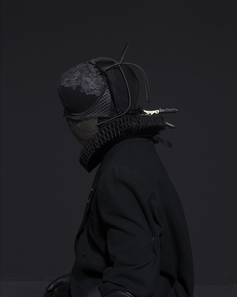 Mustafa Sabbagh, Onore al Nero, fotografia, arte contemporanea