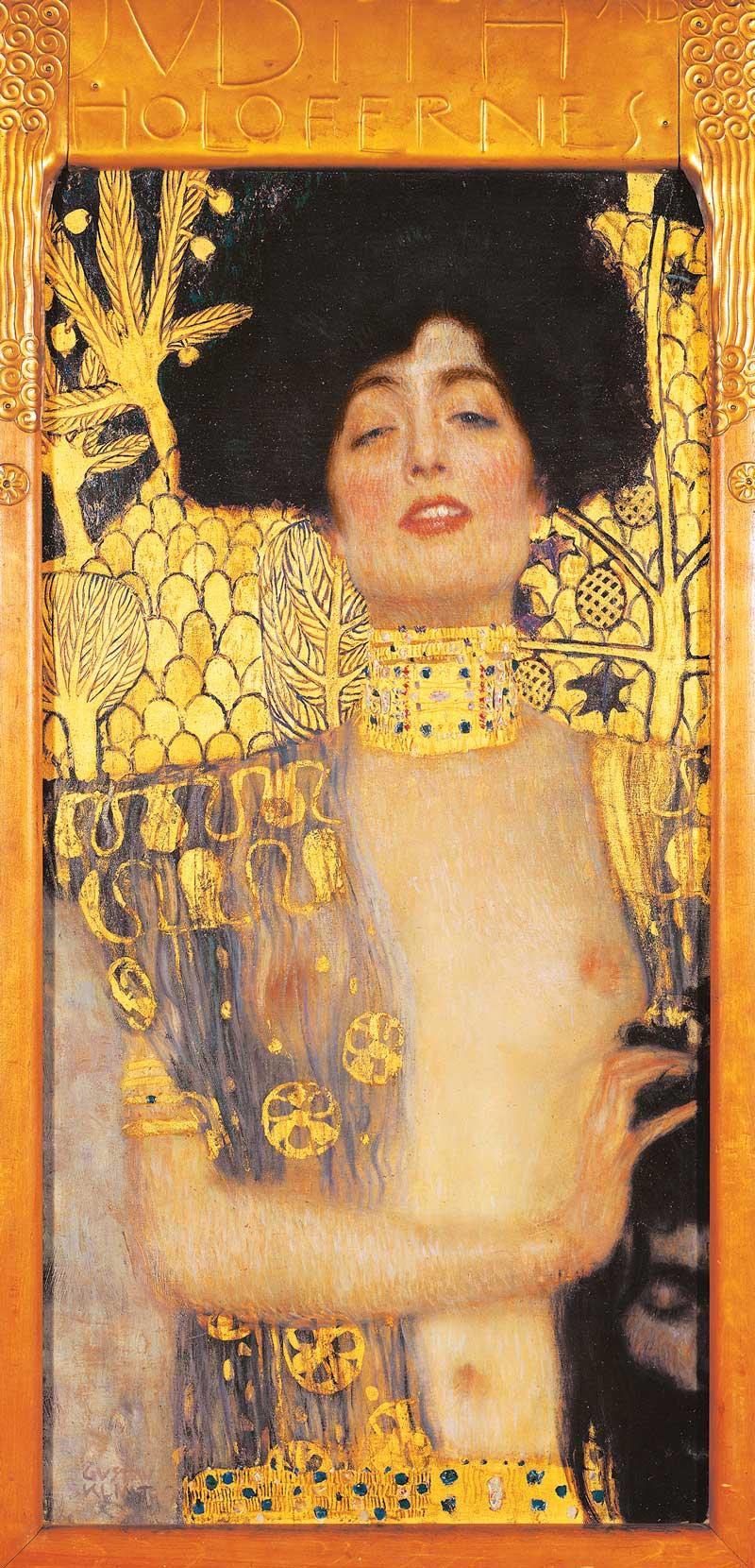 G. Klimt - Giuditta I, olio su tela, 1901, Oesterreichische Galerie im Belvedere, Vienna.