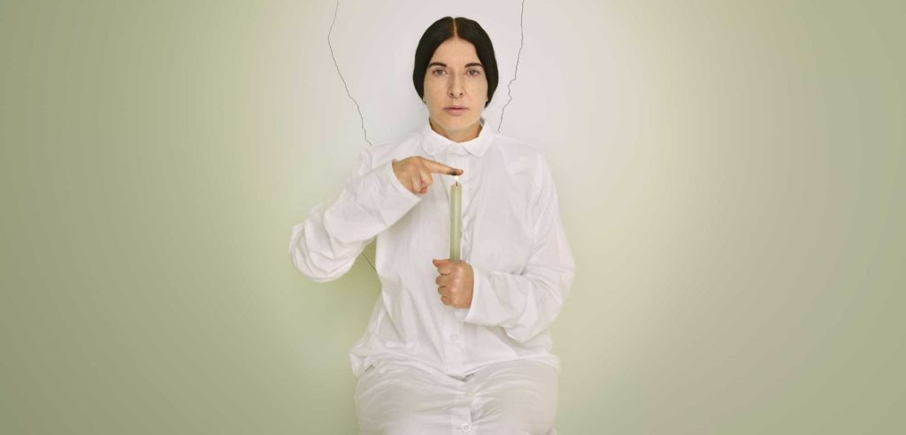 Marina Abramović Artist Portrait with a Candle (C) dalla serie Places of Power, 2013. Courtesy of Marina Abramović Archives© Marina Abramović by SIAE 2018