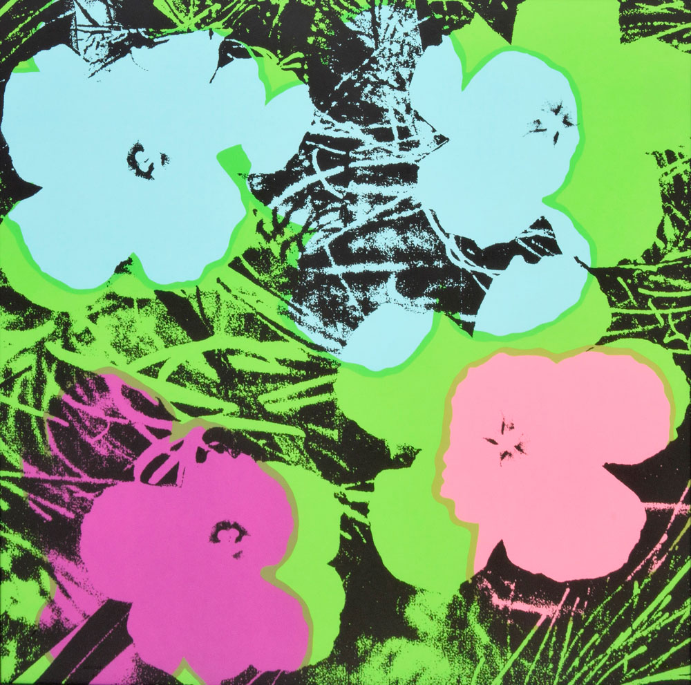 Andy Warhol - Flowers, 1970 Courtesy of Galerie Haas & Gschwandtner