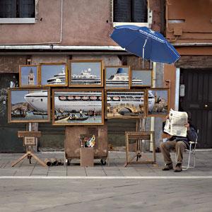 Banksy a Venezia. Ph. Courtesy Banksy www.banksy.co.uk