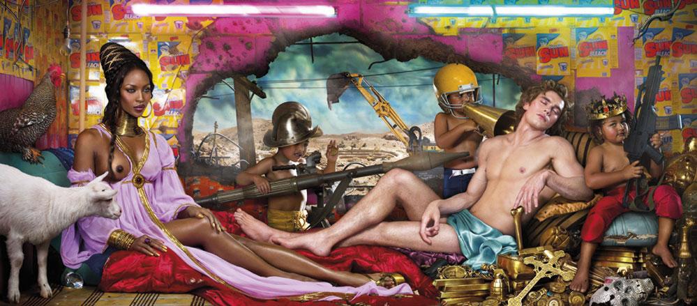 Rape of Africa, 2009 © David LaChapelle