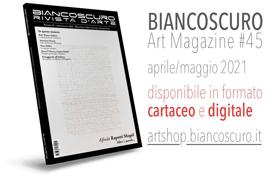 900 BIANCOSCURO ART MAGAZINE